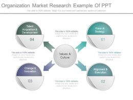 Organization Market Research Example Of Ppt