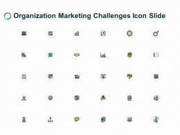 Organization Marketing Challenges Icon Slide Growth L266 Ppt Powerpoint Outfit