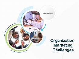 Organization Marketing Challenges Powerpoint Presentation Slides