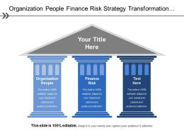 Organization People Finance Risk Strategy Transformation Organizational Profile