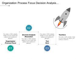 Organization Process Focus Decision Analysis Resolution Requirement Development