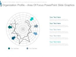 Organization Profile Area Of Focus Powerpoint Slide Graphics