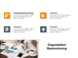 Organization Restructuring Ppt Powerpoint Presentation Icon Slide Download Cpb