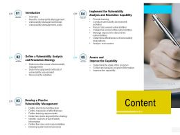 Organization Risk Probability Management Content Ppt Powerpoint Presentation Inspiration Icons
