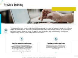 Organization Risk Probability Management Provide Training Ppt Powerpoint Infographic