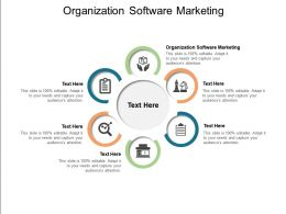 Organization Software Marketing Ppt Powerpoint Presentation File Graphic Images Cpb
