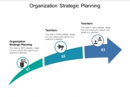 Organization Strategic Planning Ppt Powerpoint Presentation Gallery Deck Cpb