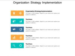 Organization Strategy Implementation Ppt Powerpoint Presentation Model Infographics Cpb