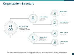 Organization Structure Ppt Deck