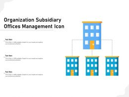 Organization Subsidiary Offices Management Icon