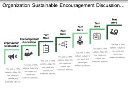 Organization Sustainable Encouragement Discussion Building Corporate Protection Opportunities