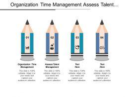 Organization Time Management Assess Talent Management Business Profile Report Cpb