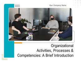 Organizational Activities Processes And Competencies A Brief Introduction Complete Deck