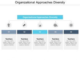 Organizational Approaches Diversity Ppt Powerpoint Presentation Slides Show Cpb