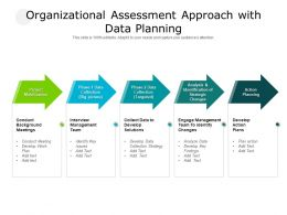 Organizational Assessment Approach With Data Planning
