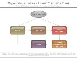 Organizational Behavior Powerpoint Slide Ideas
