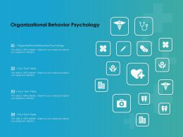 Organizational Behavior Psychology Ppt Powerpoint Presentation Infographic Template