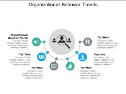 Organizational Behavior Trends Ppt Powerpoint Presentation Styles Grid Cpb