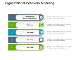 Organizational Behaviors Modelling Ppt Powerpoint Presentation Show Aids Cpb