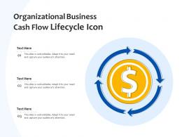 Organizational Business Cash Flow Lifecycle Icon