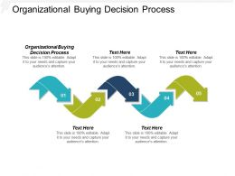Organizational Buying Decision Process Ppt Powerpoint Presentation Infographics Sample Cpb