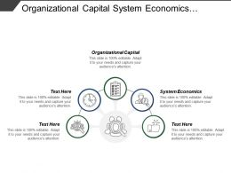 Organizational Capital System Economics Market Dominance Achievement Share