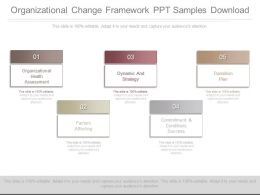 Organizational Change Framework Ppt Samples Download