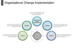 Organizational Change Implementation Ppt Powerpoint Presentation Layouts Summary Cpb