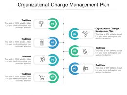 Organizational Change Management Plan Ppt Powerpoint Presentation Pictures Cpb