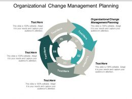 Organizational Change Management Planning Ppt Powerpoint Presentation Summary Visual Aids Cpb