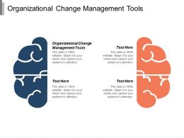 Organizational Change Management Tools Ppt Powerpoint Presentation Model Templates Cpb