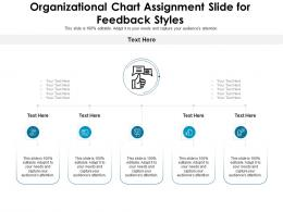 Organizational Chart Assignment Slide For Feedback Styles Infographic Template