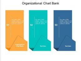 Organizational Chart Bank Ppt Powerpoint Presentation Show Inspiration Cpb