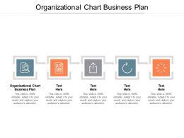 Organizational Chart Business Plan Ppt Powerpoint Presentation Layout Cpb