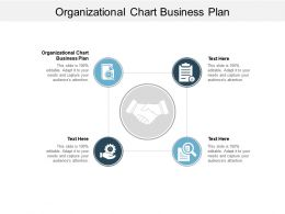 Organizational Chart Business Plan Ppt Powerpoint Presentation Templates Cpb