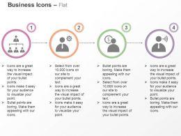 Organizational Chart Team Process Management Financial News Ppt Icons Graphics