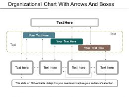 Organizational Chart With Arrows And Boxes