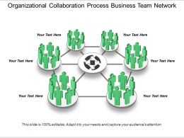 Organizational Collaboration Process Business Team Network