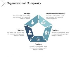 Organizational Complexity Ppt Powerpoint Presentation Pictures Portrait Cpb