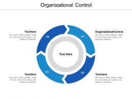 Organizational Control Ppt Powerpoint Presentation Show Images Cpb