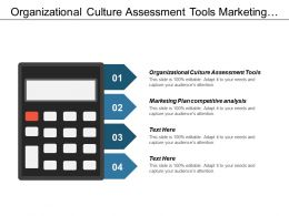 Organizational Culture Assessment Tools Marketing Plan Competitive Analysis Cpb