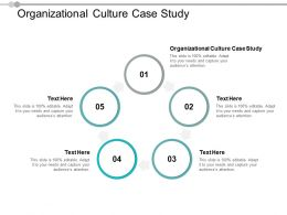 Organizational Culture Case Study Ppt Powerpoint Presentation Pictures Template Cpb