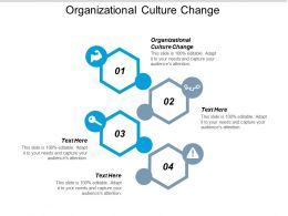 Organizational Culture Change Ppt Powerpoint Presentation Model Infographic Template Cpb
