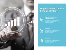 Organizational Culture Change Strategy Ppt Powerpoint Presentation Model Aids Cpb