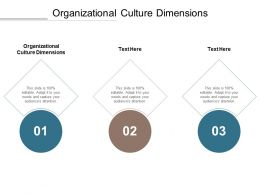 Organizational Culture Dimensions Ppt Powerpoint Presentation File Portfolio Cpb