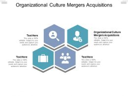 Organizational Culture Mergers Acquisitions Ppt Powerpoint Styles Cpb