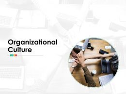 Organizational Culture Ppt Infographics Layout