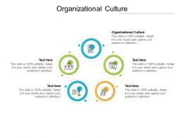 Organizational Culture Ppt Powerpoint Presentation Styles Template Cpb