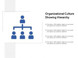 Organizational Culture Showing Hierarchy