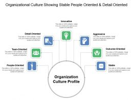 Organizational Culture Showing Stable People Oriented And Detail Oriented